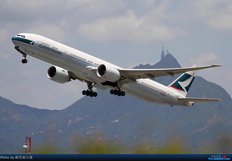 Re:[原创]香港机场沙螺湾村观机小记 BOEING 777-300 B-KQH 中国香港赤鱲角机场