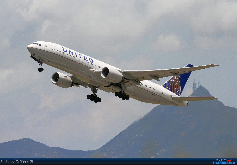 Re:[原创]香港机场沙螺湾村观机小记 BOEING 777-200 N784UA 中国香港赤鱲角机场