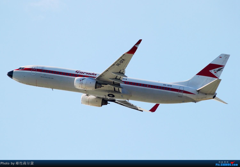 Re:[原创]香港机场沙螺湾村观机小记 BOEING 737-800 PK-GFM 中国香港赤鱲角机场