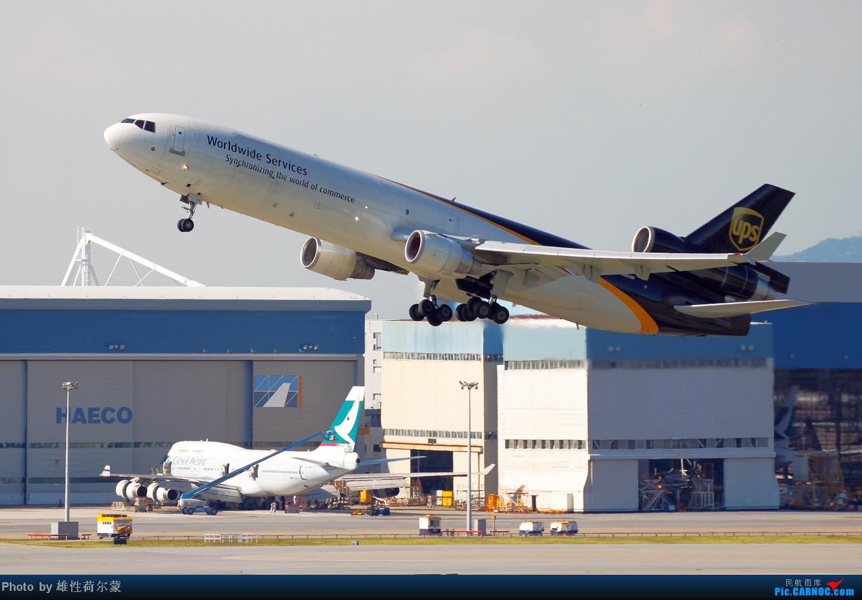 Re:[原创]香港机场沙螺湾村观机小记 MCDONNELL DOUGLAS MD-11 N282UP 中国香港赤鱲角机场