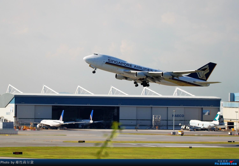 Re:[原创]香港机场沙螺湾村观机小记 BOEING 747-400 9V-SFK 中国香港赤鱲角机场
