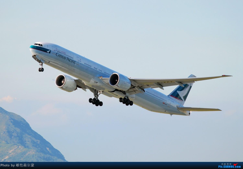 Re:[原创]香港机场沙螺湾村观机小记 BOEING 777-300 B-KPY 中国香港赤鱲角机场