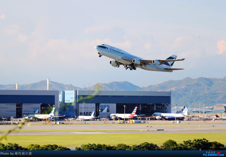 Re:[原创]香港机场沙螺湾村观机小记 BOEING 747-400 B-HUJ 中国香港赤鱲角机场