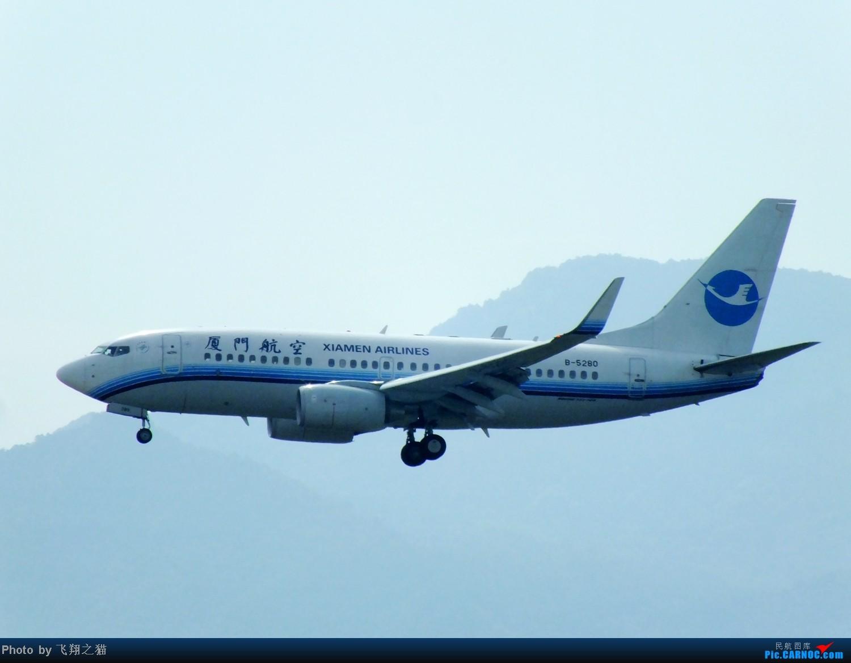 Re:[原创]CKG拍机(8月30号随拍) BOEING 737-700 B-5280 重庆江北国际机场