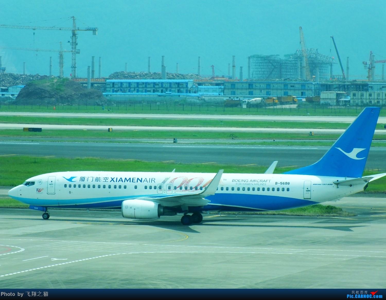 Re:[原创]CKG拍机(8月30号随拍) BOEING 737-800 B-5688 重庆江北国际机场