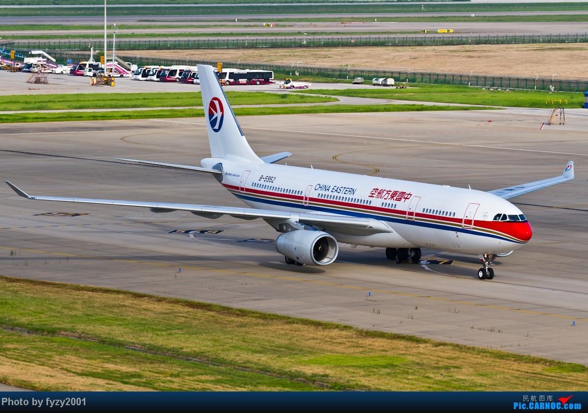 Re:[原创][无锡西站]MU A330系列(332+333=36架)(新增标装6100和最新332天合) AIRBUS A330-200 B-5952 中国上海浦东机场