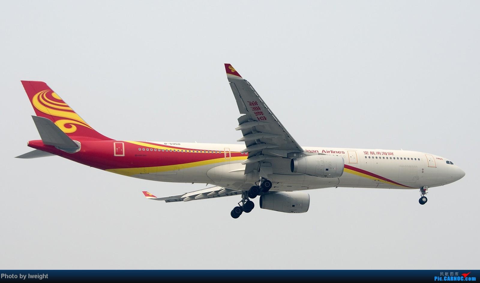 [原创]9月7日帝都的烂天里乱拍一通 AIRBUS A330-300 B-5950 中国北京首都机场