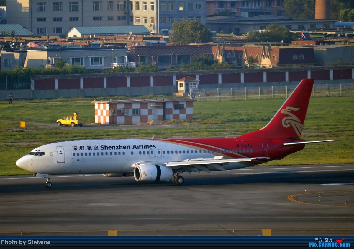 Re:[原创][DLC]暑期那些光临DLC的大小家伙们 BOEING 737-800 B-5075 中国大连周水子机场