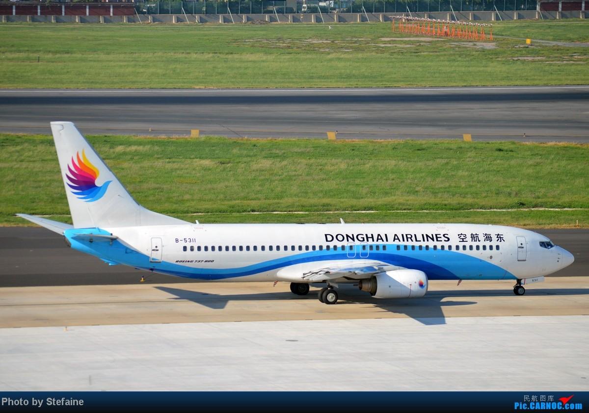 Re:[原创][DLC]暑期那些光临DLC的大小家伙们 BOEING 737-800 B-5311 中国大连周水子机场