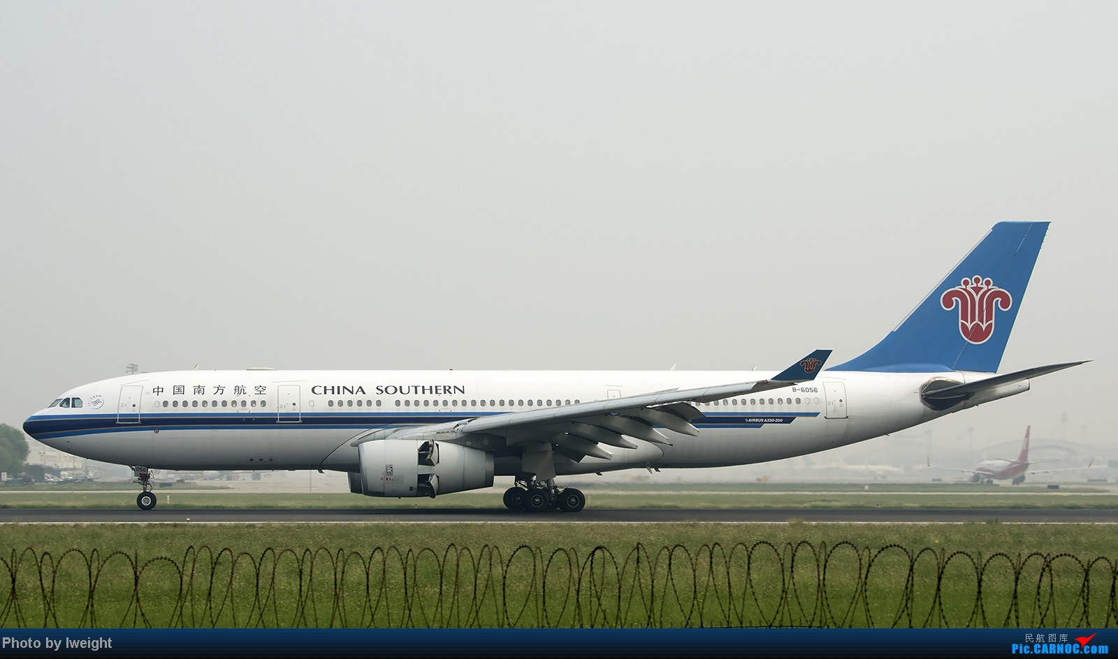 Re:[原创]9月7日帝都的烂天里乱拍一通 AIRBUS A330-200 B-6056 中国北京首都机场