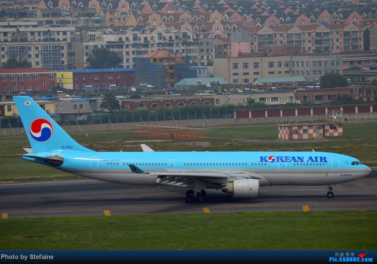 Re:[原创][DLC]暑期那些光临DLC的大小家伙们 AIRBUS A320-200 HL7552 中国大连周水子机场