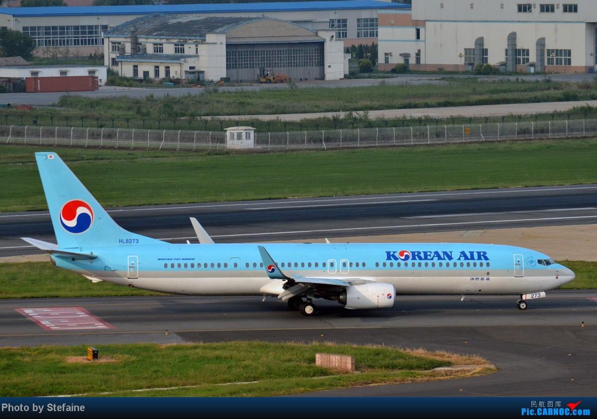 Re:[原创][DLC]暑期那些光临DLC的大小家伙们 BOEING 737-900ER HL8273 中国大连周水子机场