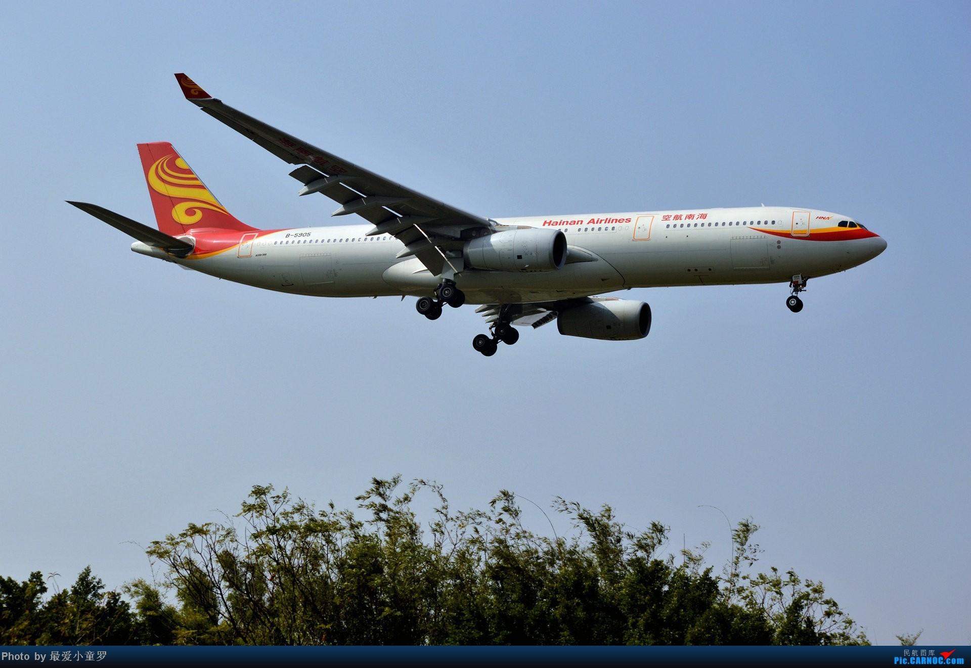 Re:[原创]好天拍机,去年12月21日广州消防塔拍机 AIRBUS A330-300 B-5905 中国广州白云机场