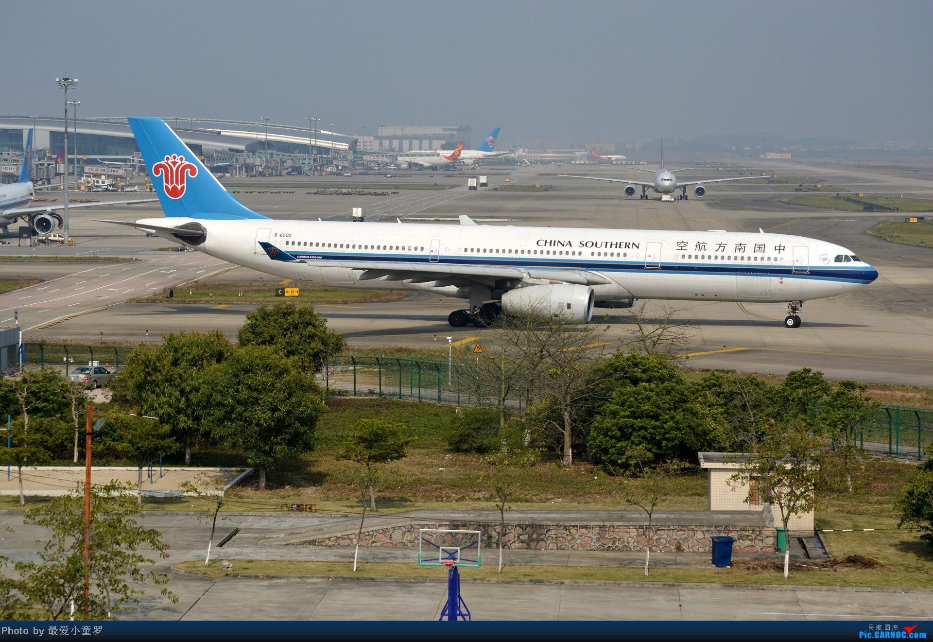 Re:[原创]好天拍机,去年12月21日广州消防塔拍机 AIRBUS A330-300 B-6500 中国广州白云机场