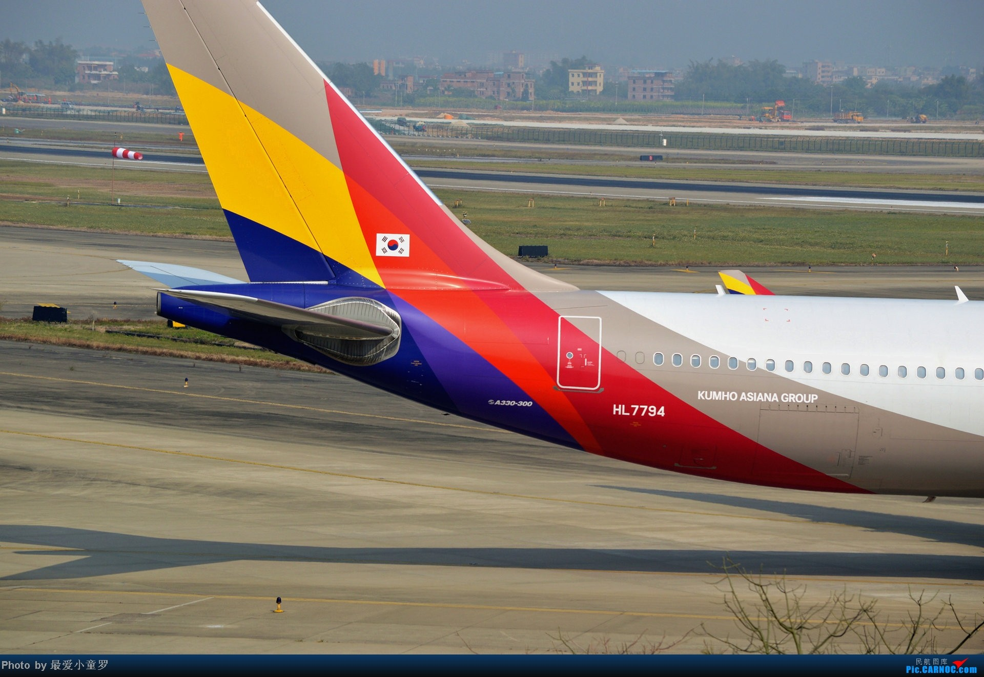 Re:[原创]好天拍机,去年12月21日广州消防塔拍机 AIRBUS A330-300 HL7794