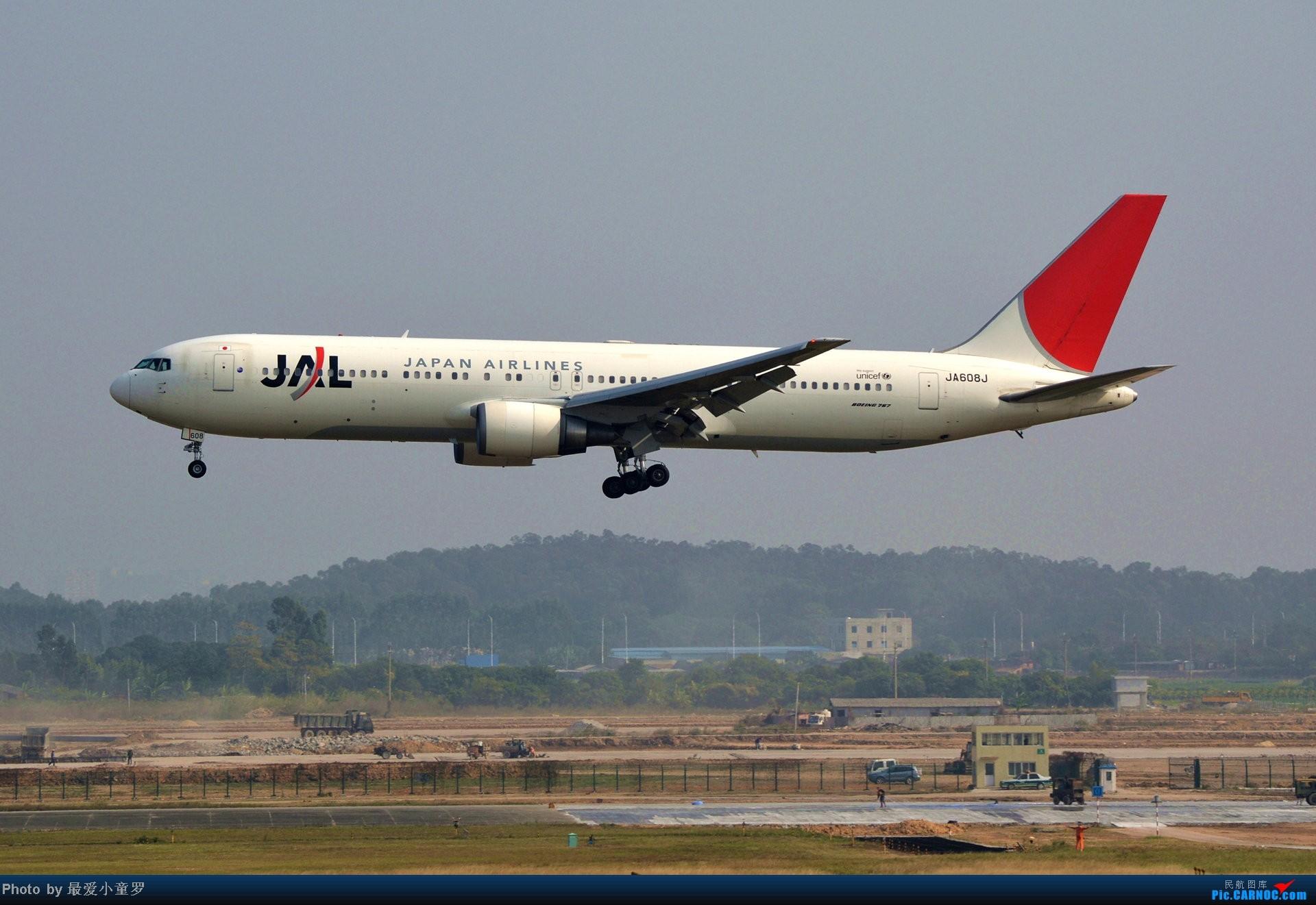 Re:[原创]好天拍机,去年12月21日广州消防塔拍机 BOEING 767-300ER JA608J