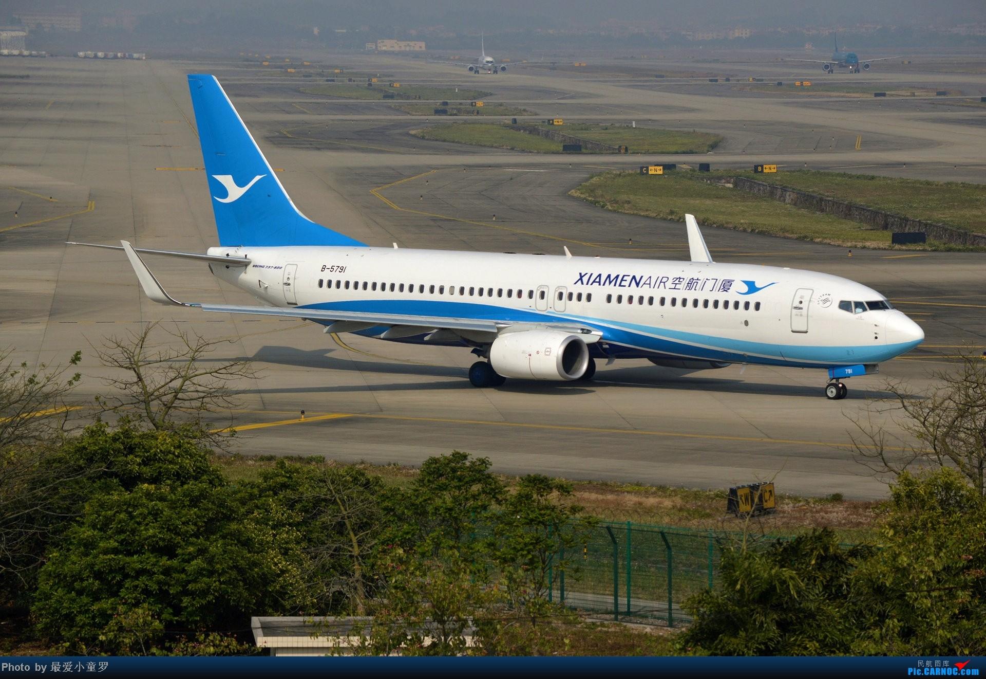 Re:[原创]好天拍机,去年12月21日广州消防塔拍机 BOEING 737-800 B-5791 中国广州白云机场