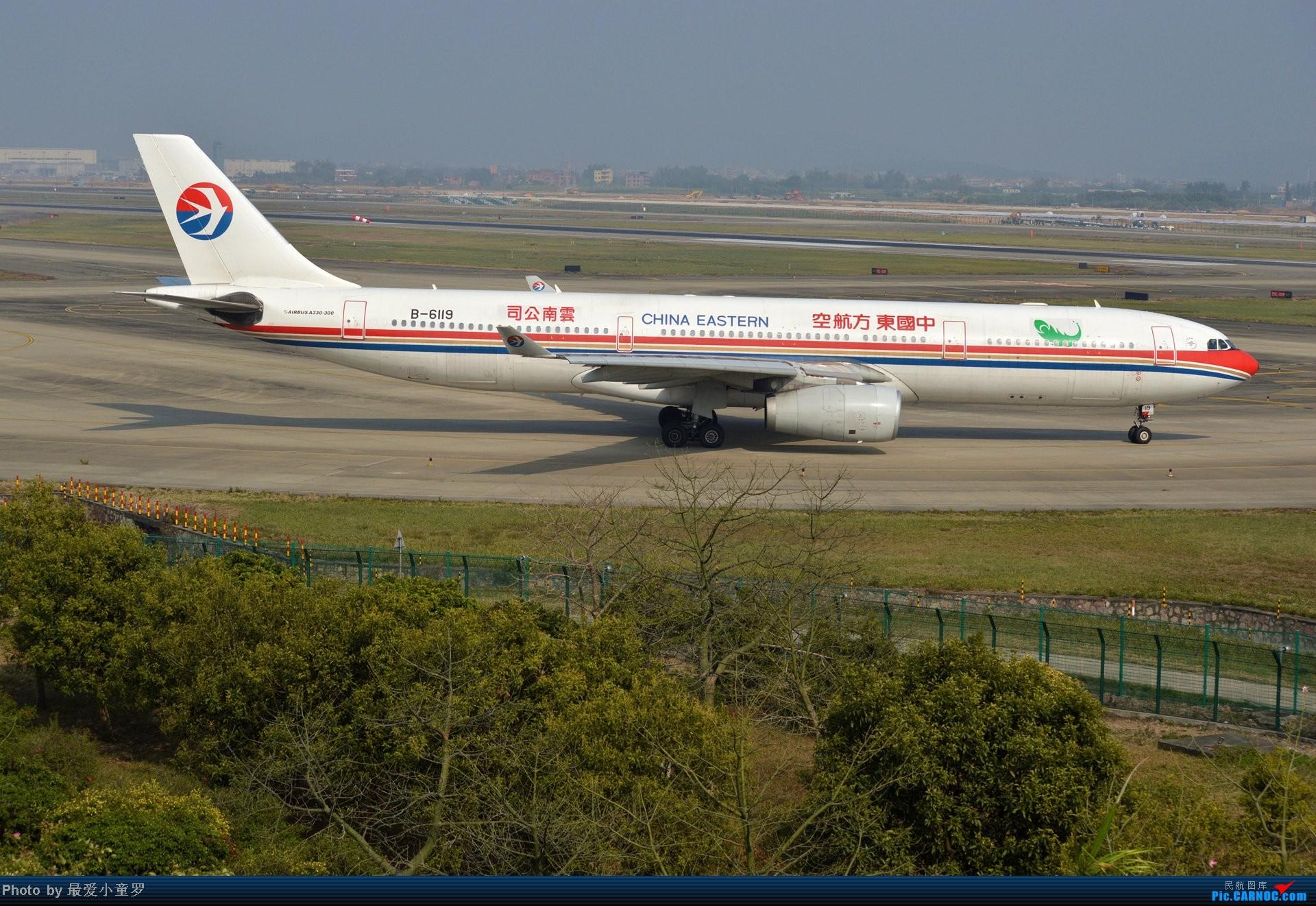 Re:[原创]好天拍机,去年12月21日广州消防塔拍机 AIRBUS A330-300 B-6119 中国广州白云机场