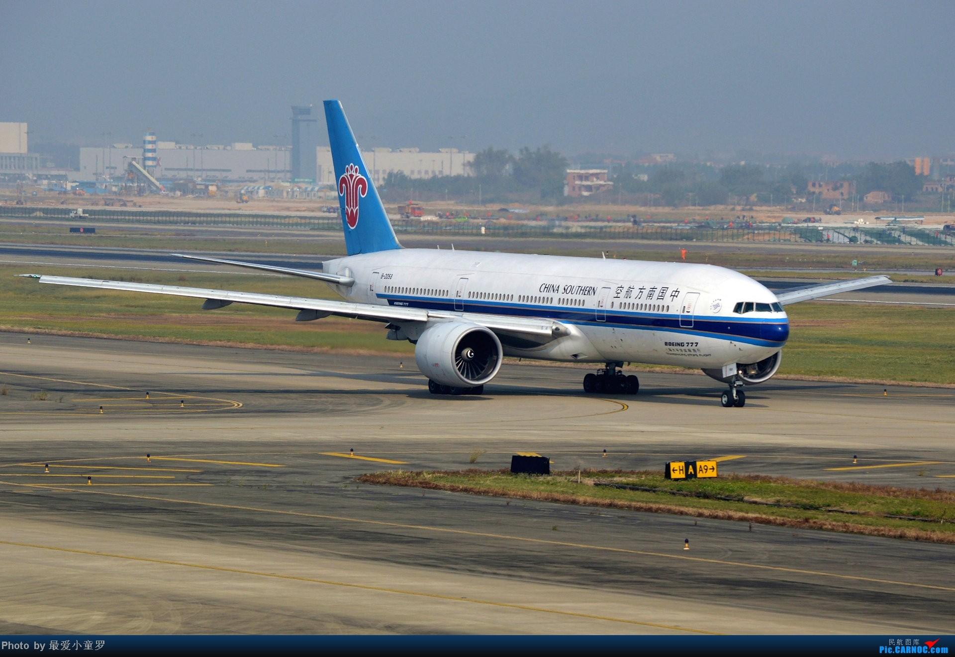 Re:[原创]好天拍机,去年12月21日广州消防塔拍机 BOEING 777-200 B-2058 中国广州白云机场