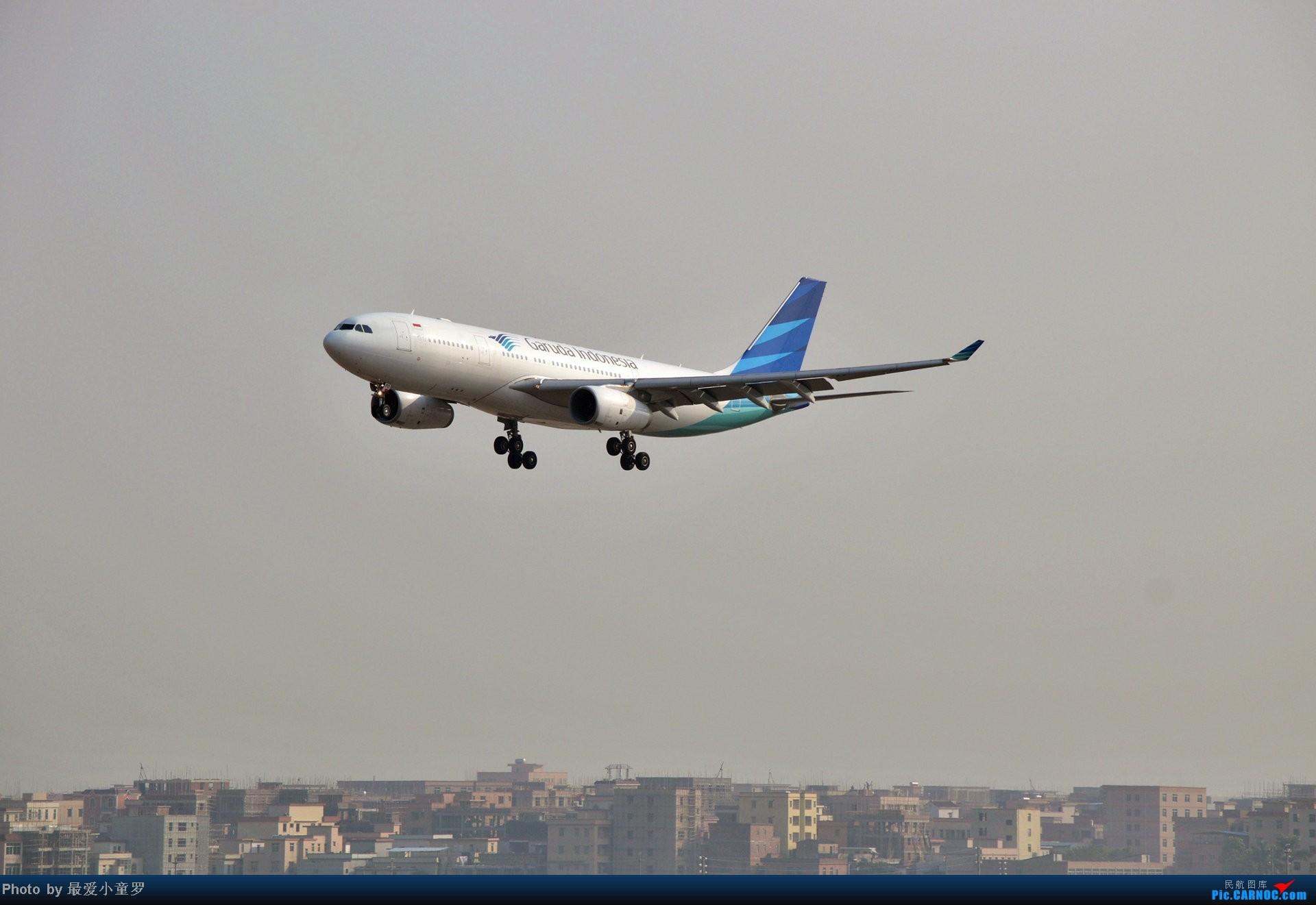 Re:[原创]好天拍机,去年12月21日广州消防塔拍机 AIRBUS A330-200 PK-GPQ