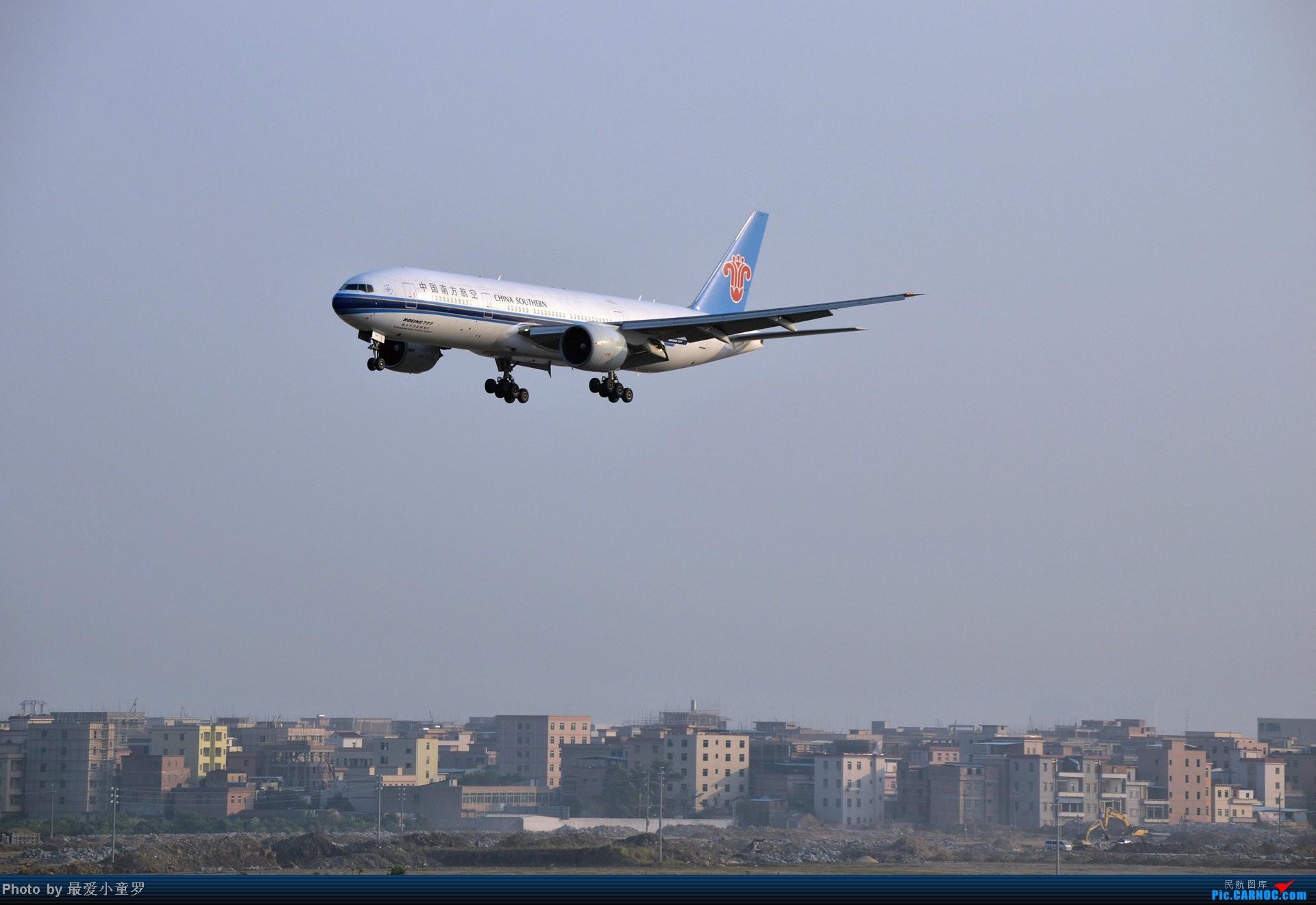 Re:[原创]好天拍机,去年12月21日广州消防塔拍机 BOEING 777-200 B-2055 中国广州白云机场