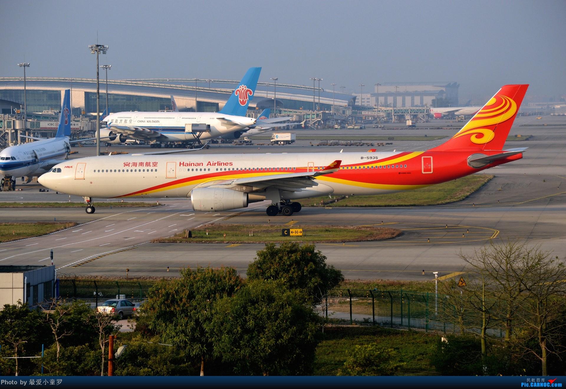 Re:[原创]好天拍机,去年12月21日广州消防塔拍机 AIRBUS A330-300 B-5935 中国广州白云机场