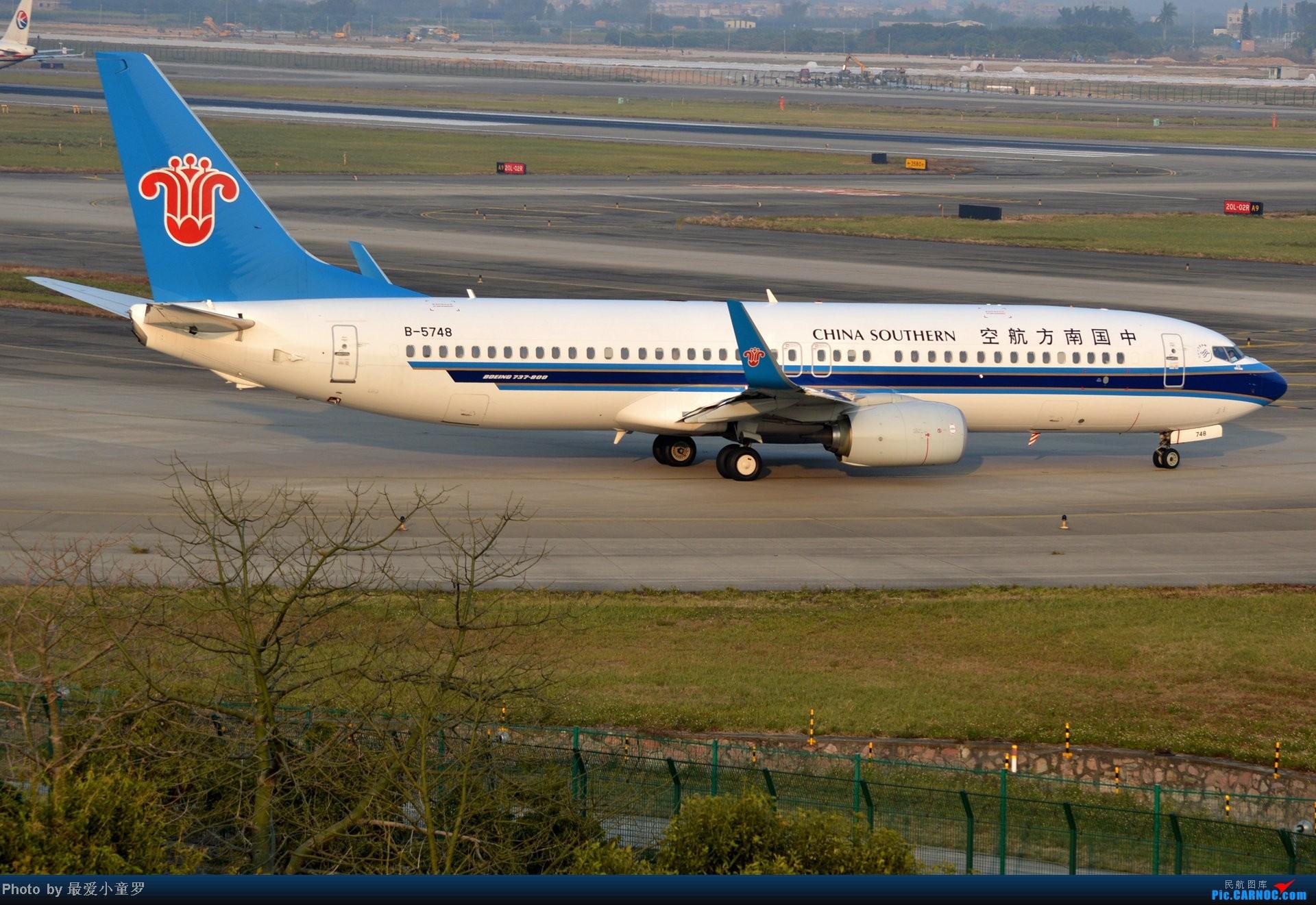Re:[原创]好天拍机,去年12月21日广州消防塔拍机 BOEING 737-800 B-5748 中国广州白云机场