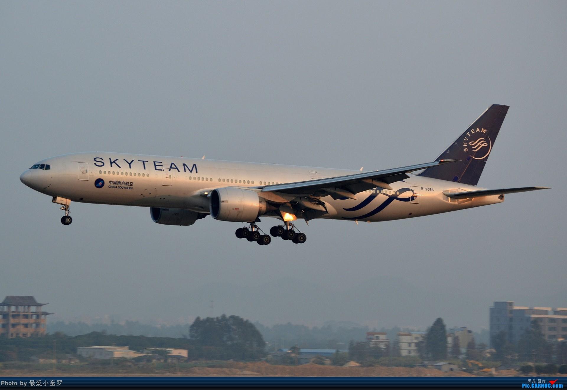 Re:[原创]好天拍机,去年12月21日广州消防塔拍机 BOEING 777-200 B-2056 中国广州白云机场