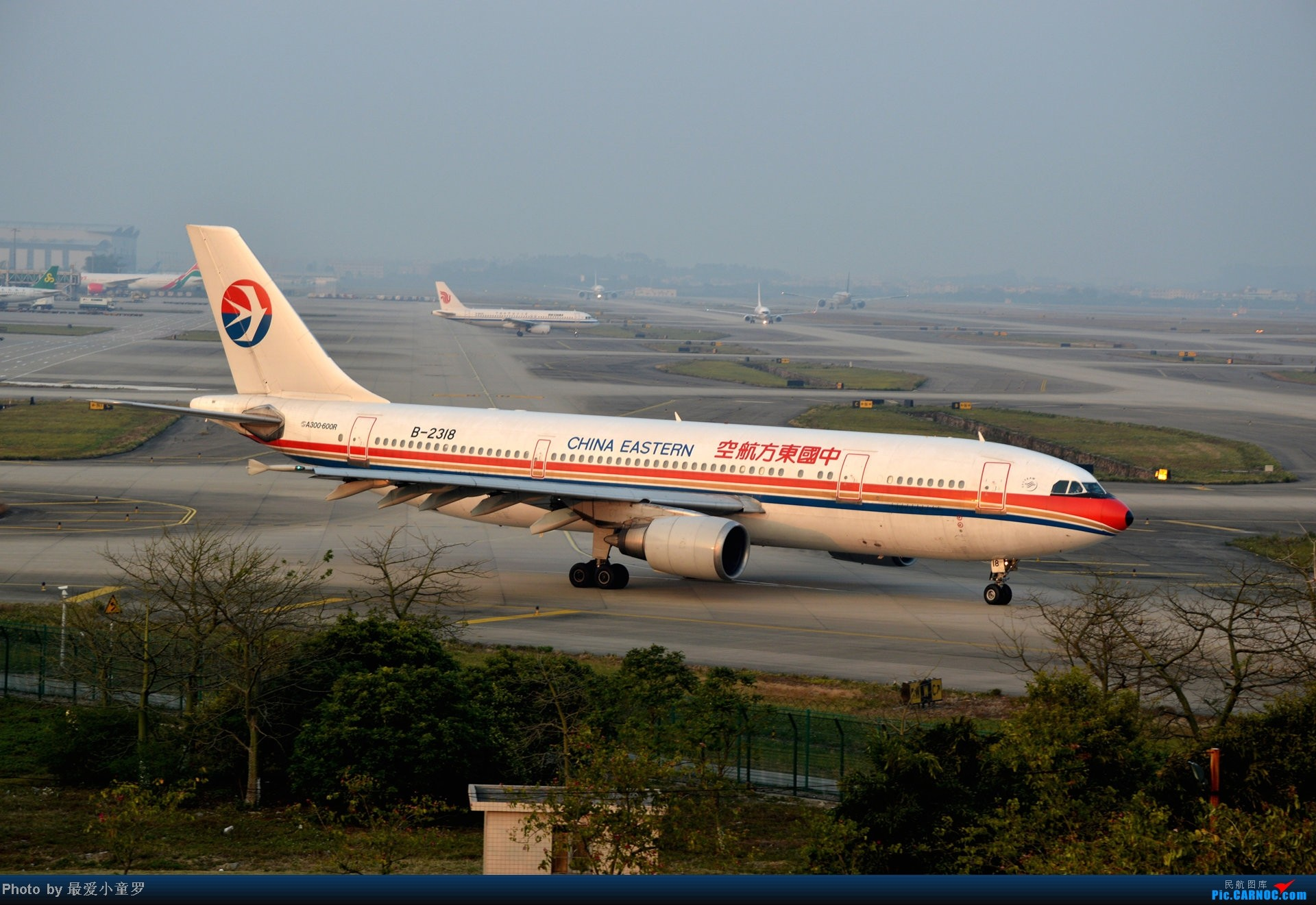 Re:[原创]好天拍机,去年12月21日广州消防塔拍机 AIRBUS A300B4-600R B-2318 中国广州白云机场