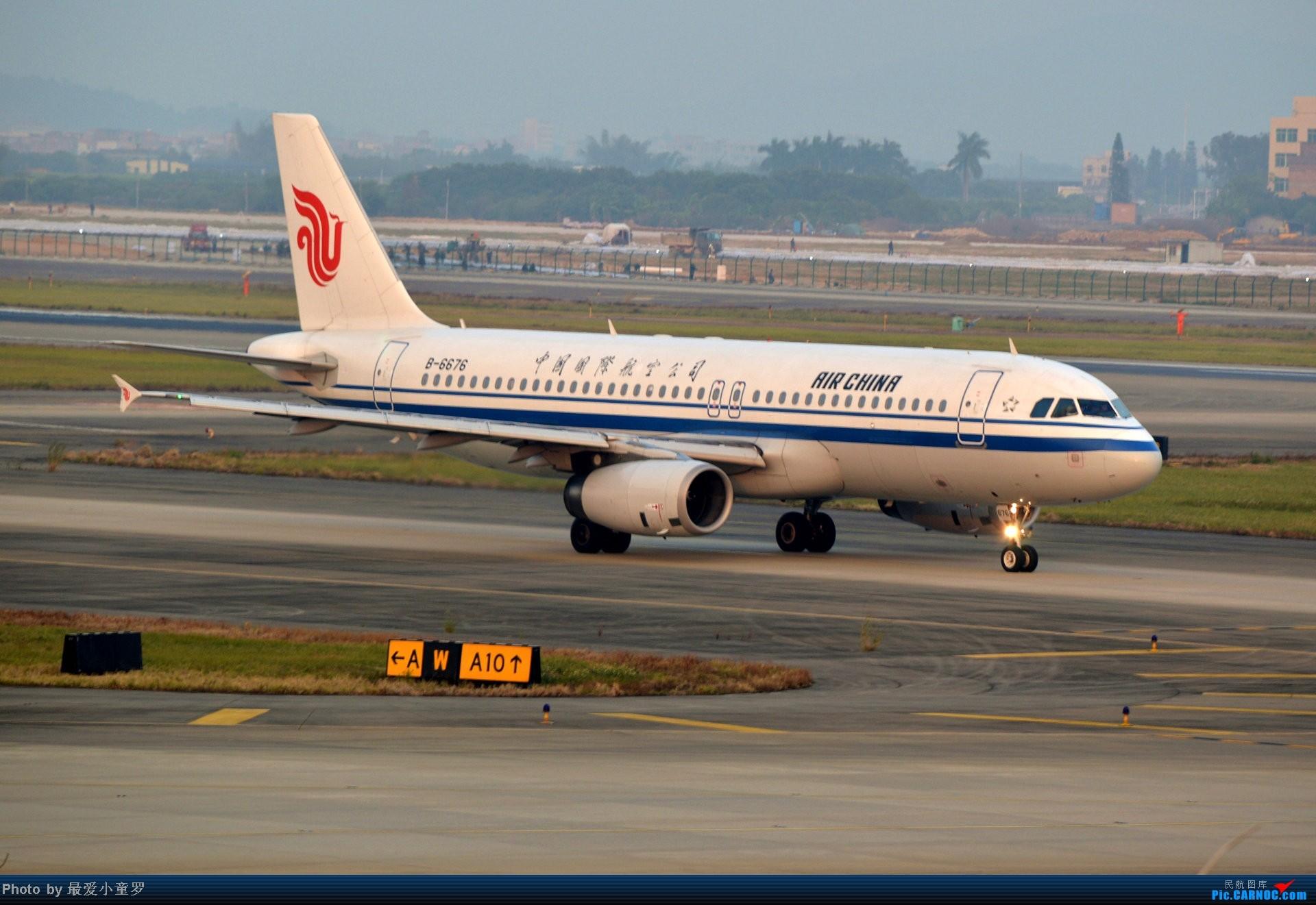 Re:[原创]好天拍机,去年12月21日广州消防塔拍机 AIRBUS A320-200 B-6676 中国广州白云机场