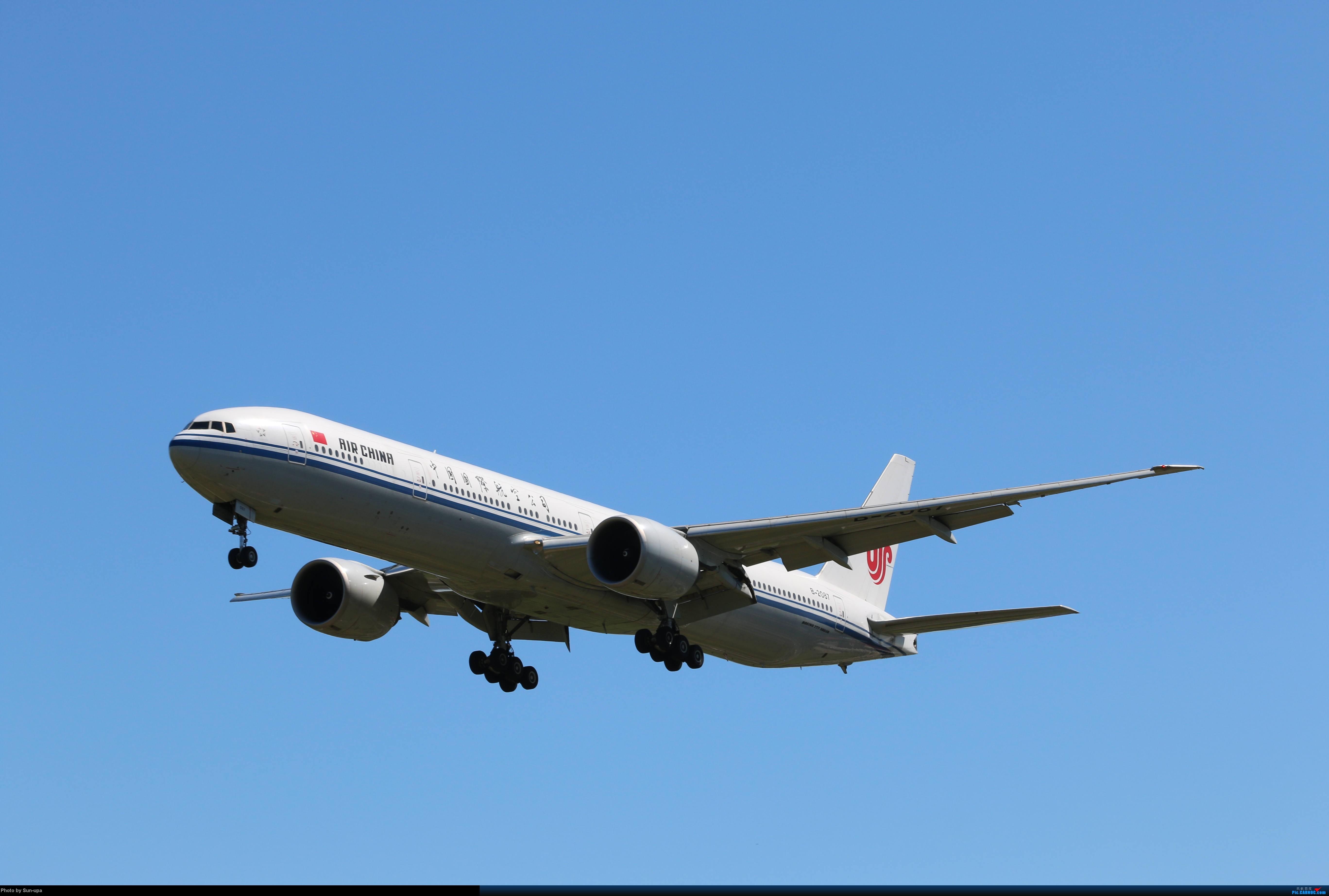 [原创]天气好 去拍机!2014.9.8PEK拍机(厦航787) BOEING 777-300ER B-2087 中国国际航空公司