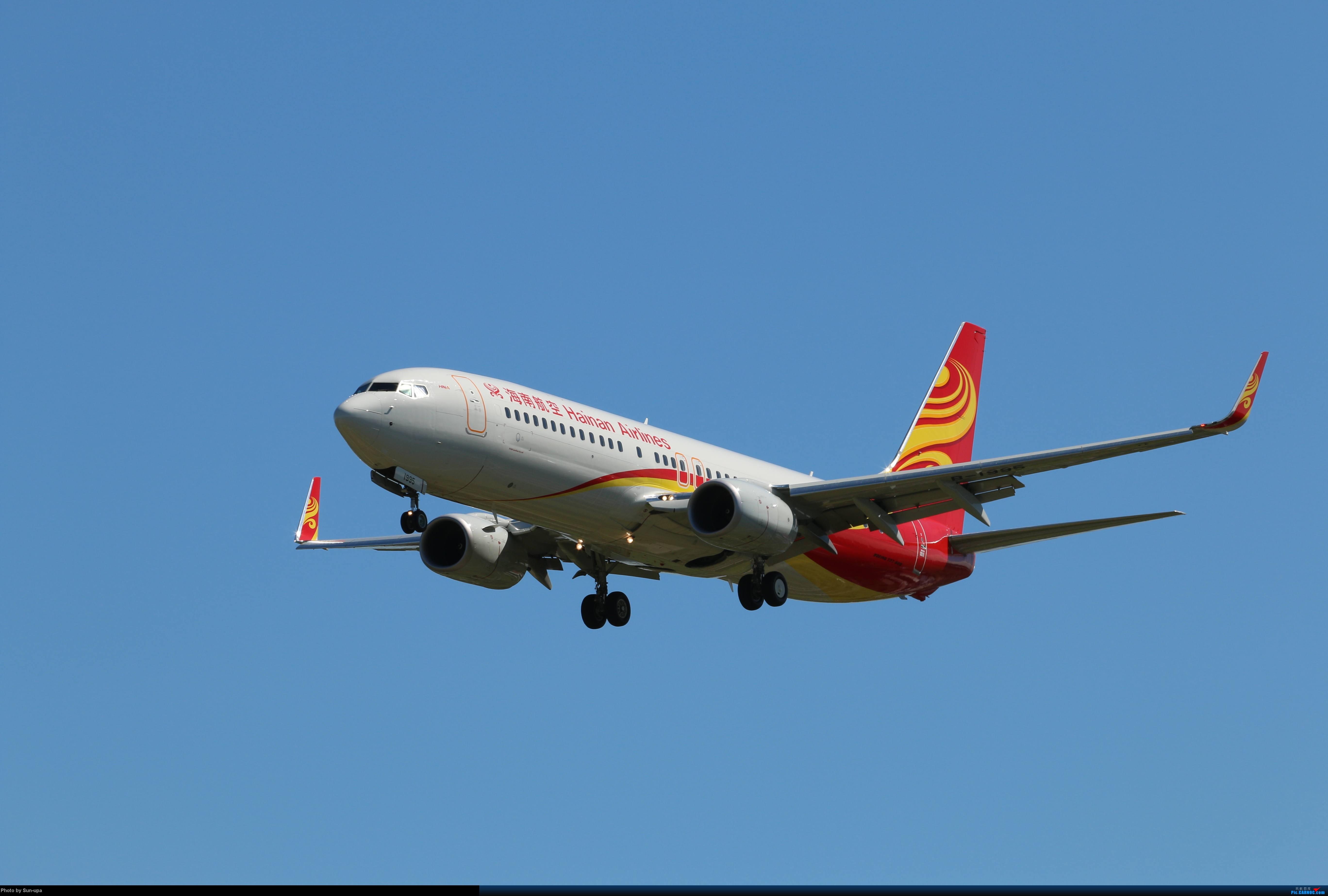 Re:[原创]天气好 去拍机!2014.9.8PEK拍机(厦航787) BOEING 737-800 B-1995 北京首都国际机场