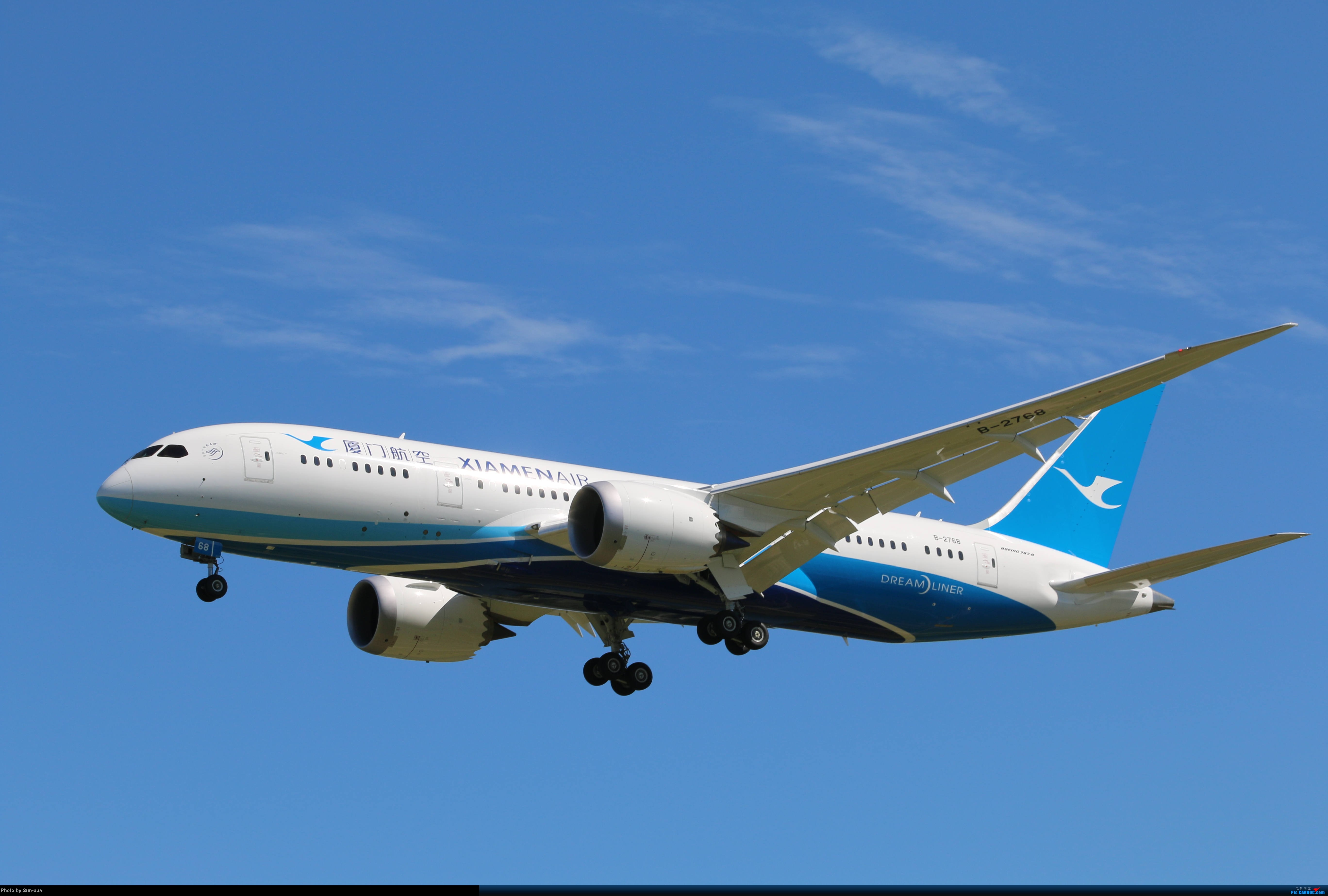 Re:[原创]天气好 去拍机!2014.9.8PEK拍机(厦航787) BOEING 787-8 B-2768 中国北京首都机场