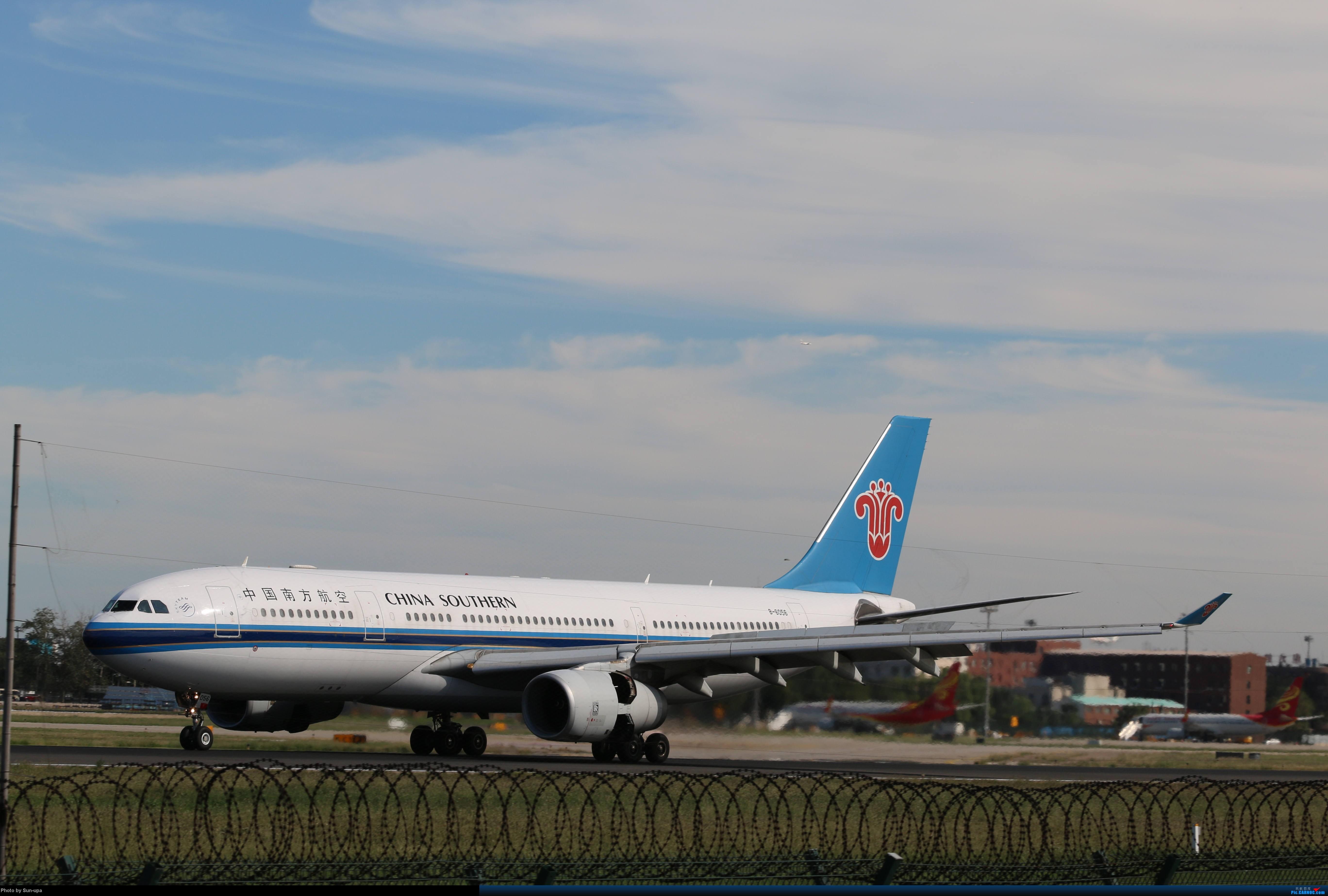 Re:[原创]天气好 去拍机!2014.9.8PEK拍机(厦航787) AIRBUS A330-200 B-6056 中国北京首都机场