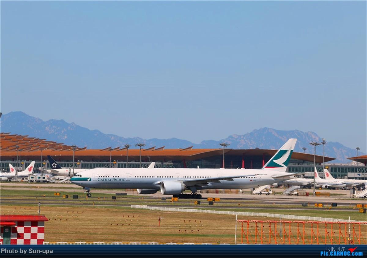Re:[原创](再发一帖 上次没发好)好天气 去拍机!2014.9.8 PEK拍机(厦航787) BOEING 777-300 B-KQJ 中国北京首都机场
