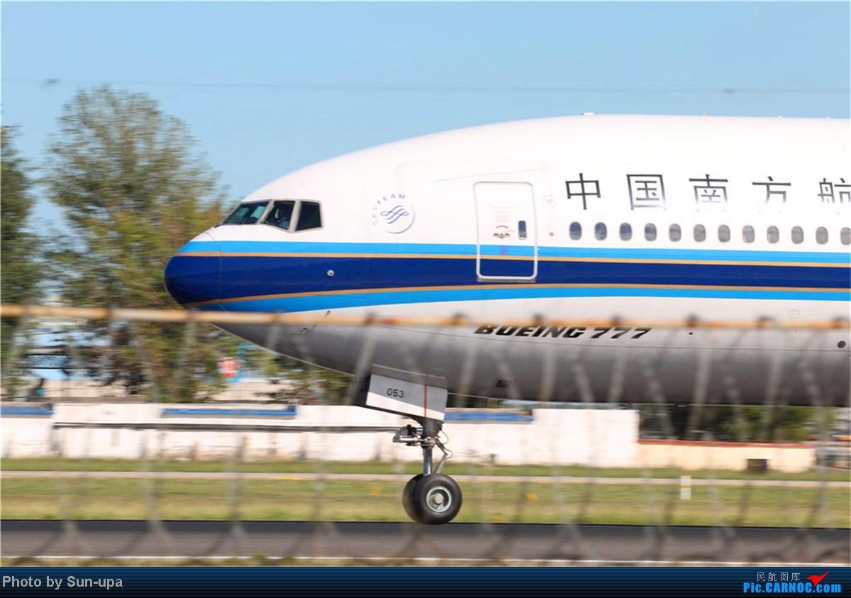 Re:[原创](再发一帖 上次没发好)好天气 去拍机!2014.9.8 PEK拍机(厦航787) BOEING 777-200 B-2053 中国北京首都机场