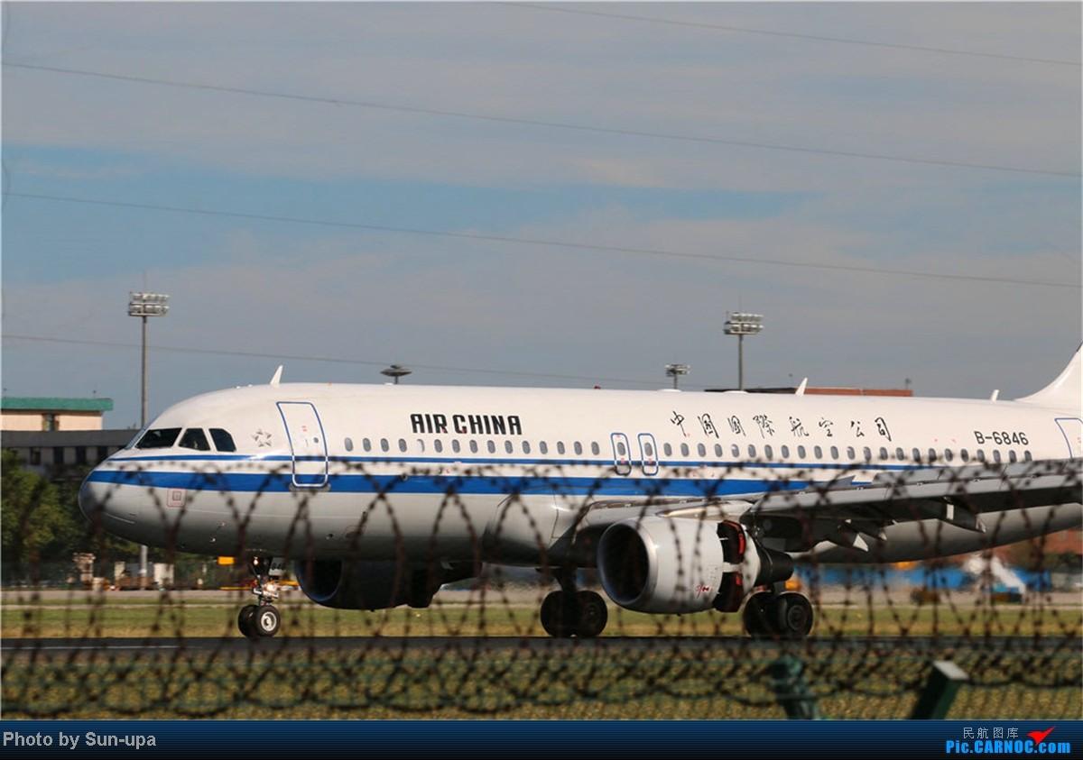 Re:[原创](再发一帖 上次没发好)好天气 去拍机!2014.9.8 PEK拍机(厦航787) AIRBUS A320-200 B-6846 中国北京首都机场