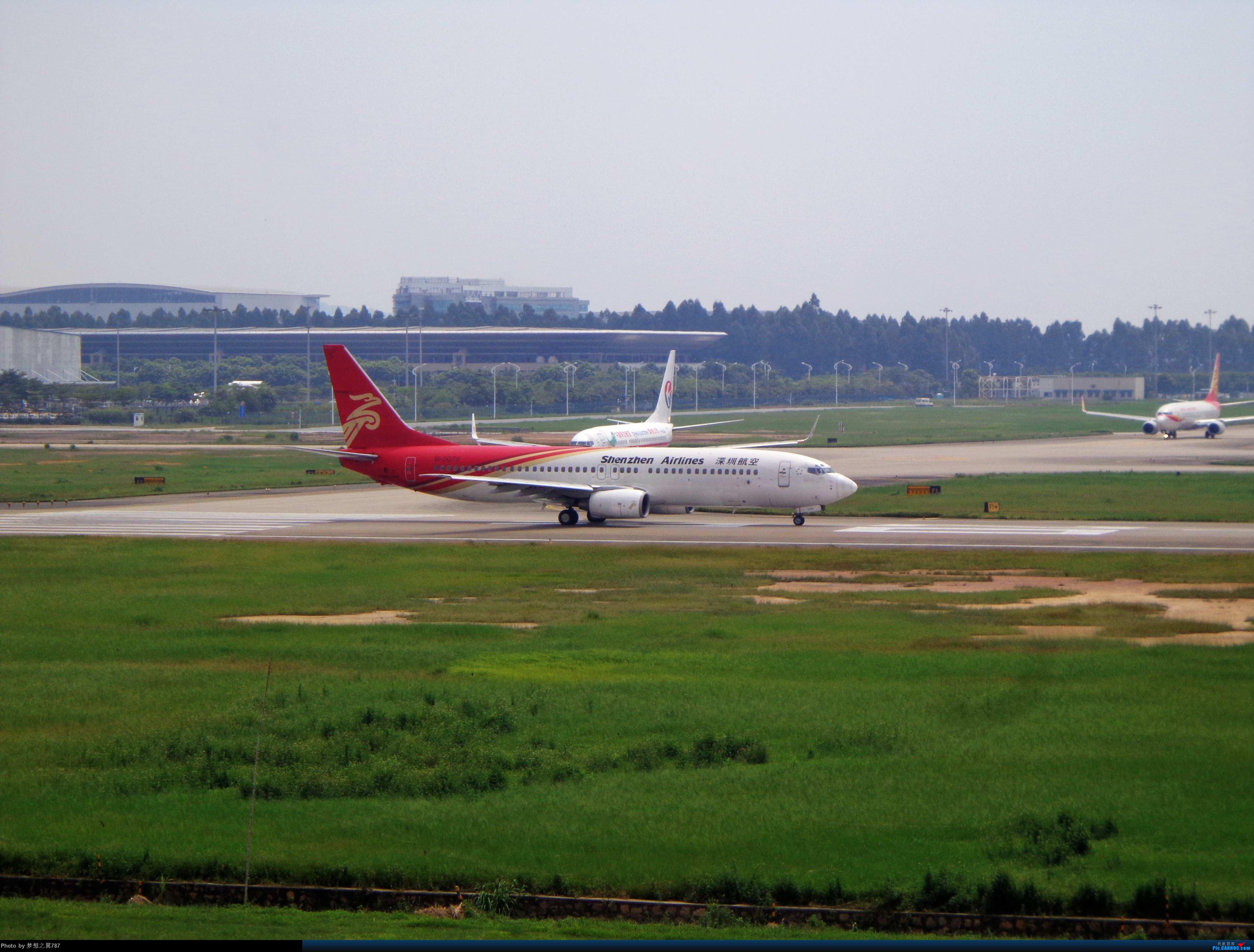 Re:[原创]2014.8.26北区+鬼屋拍机 BOEING 737-800 B-5078 中国广州白云机场