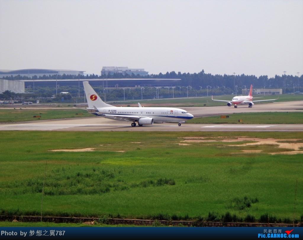 Re:[原创]2014.8.26北区+鬼屋拍机 BOEING BBJ1 B-5286 中国广州白云机场