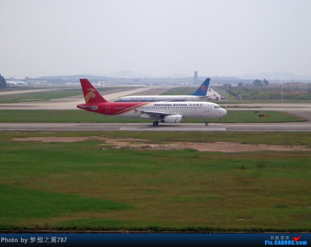 Re:[原创]2014.8.26北区+鬼屋拍机 AIRBUS A320-200 B-6807 中国广州白云机场