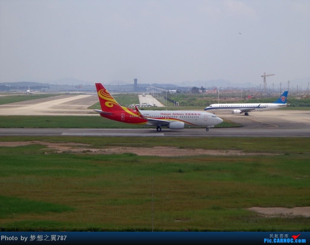 Re:[原创]2014.8.26北区+鬼屋拍机 BOEING 737-700 B-5813 中国广州白云机场