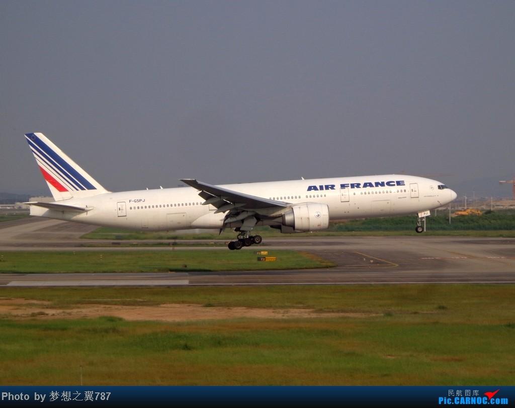 Re:[原创]2014.8.26北区+鬼屋拍机 BOEING 777-200 F-GSPJ 中国广州白云机场