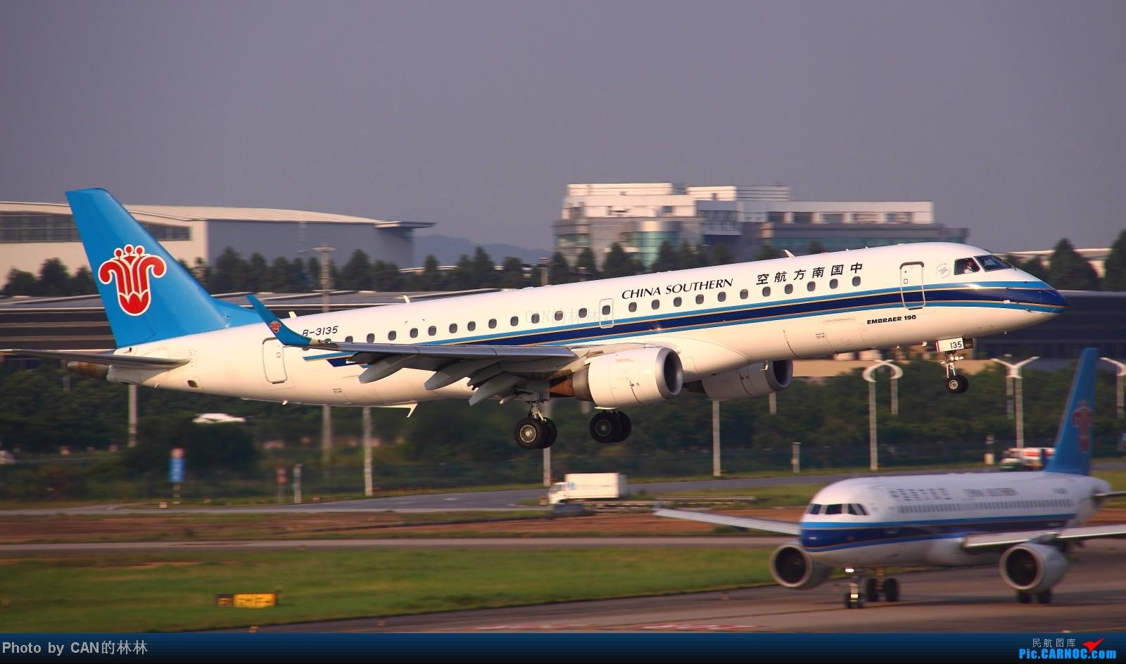 Re:[原创]~~CAN拍机一周年,杂图几张~~ EMBRAER E-190 B-3135 广州白云国际机场