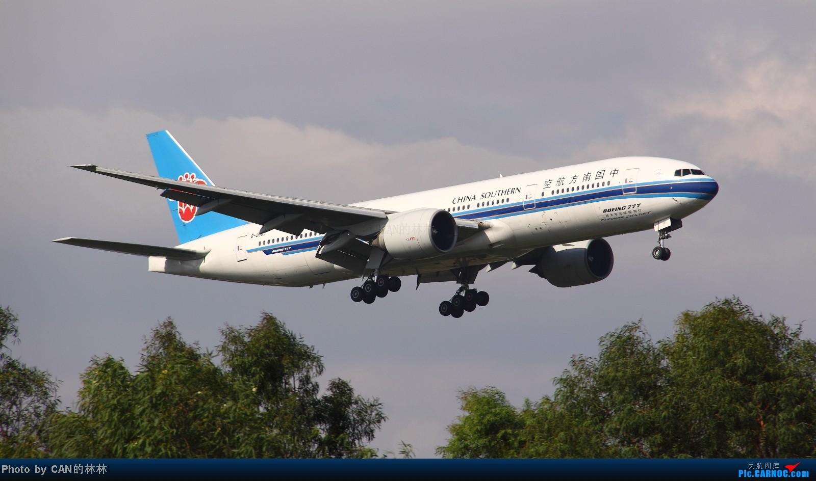 Re:[原创]~~CAN拍机一周年,杂图几张~~ BOEING 777-200 B-2057 广州白云国际机场