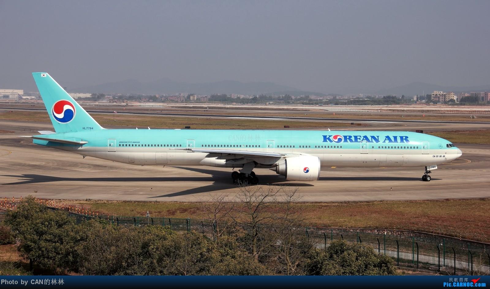 Re:[原创]~~CAN拍机一周年,杂图几张~~ BOEING777-300ER HL7784 广州白云国际机场