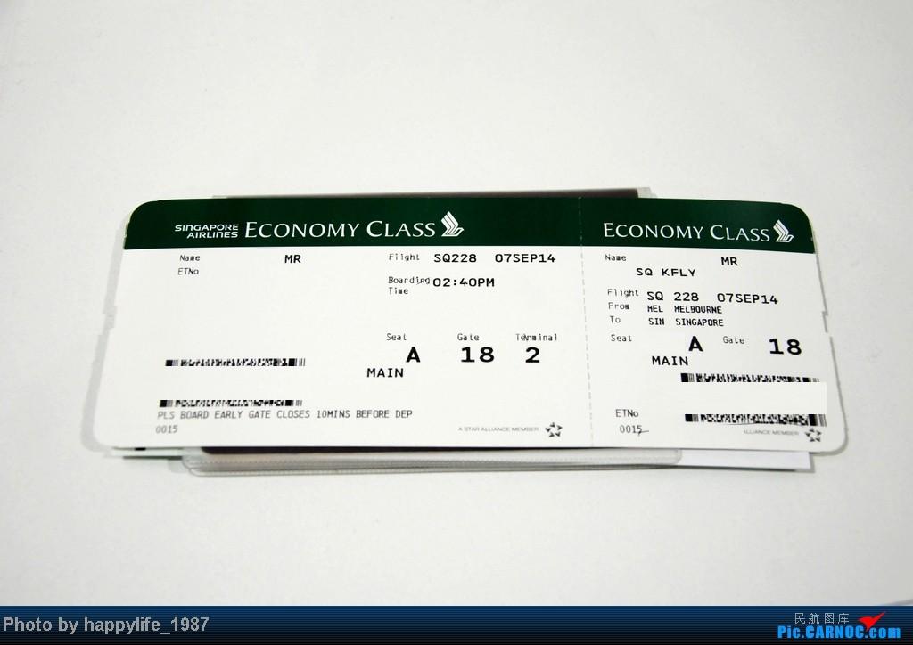 >>[原创]mi sq载我去澳洲,去程新航333,回程新航380之下集:mel-sin