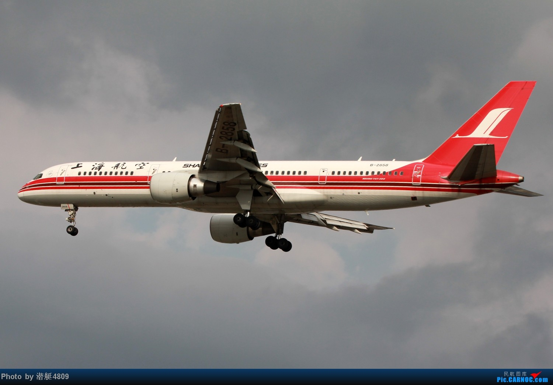 Re:[原创][郑州飞友会]魔都周末拍机记 BOEING 757-200 B-2858 中国上海虹桥机场