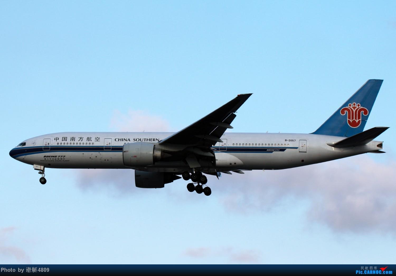 Re:[原创][郑州飞友会]魔都周末拍机记 BOEING 777-200 B-2057 中国上海虹桥机场