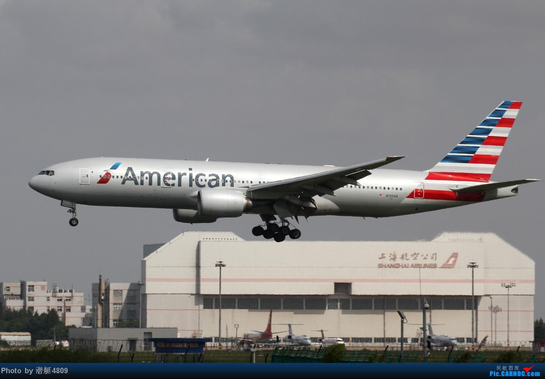 Re:[原创][郑州飞友会]魔都周末拍机记 波音777 N765AN 浦东国际机场