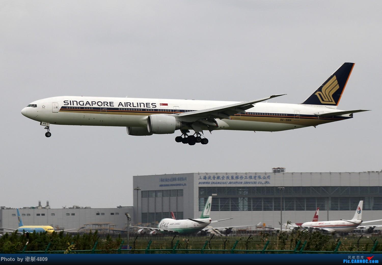 Re:[原创][郑州飞友会]魔都周末拍机记 BOEING 777 9V-SWK 中国上海浦东机场